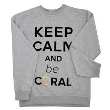 Sweatshirt Keep Calm gray