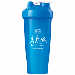 Shaker Coral Club 600 ml, light-blue