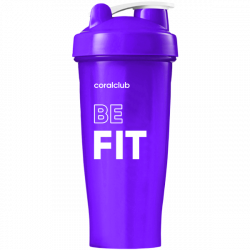 Shaker Coral Club Be fit 600 ml violett