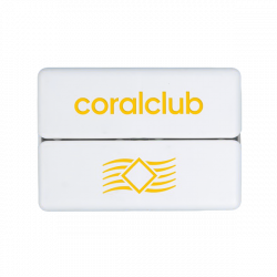 GoBox mini mit gelbem Logo Coral Club