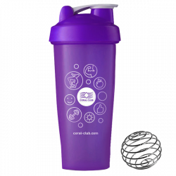 Coral Club Shaker 600 ml lila
