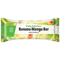 Daily Delicious Banana Mango Bar