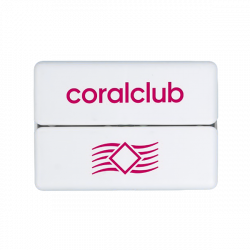 GoBox mini mit rotem Logo Coral Club
