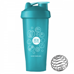 Coral Club Shaker 600 ml türkis