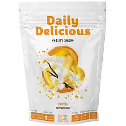 Daily Delicious Beauty Shake in der Geschmacksrichtung Vanille